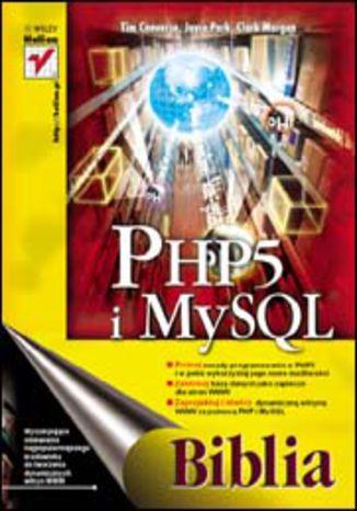 Okładka książki/ebooka PHP5 i MySQL. Biblia