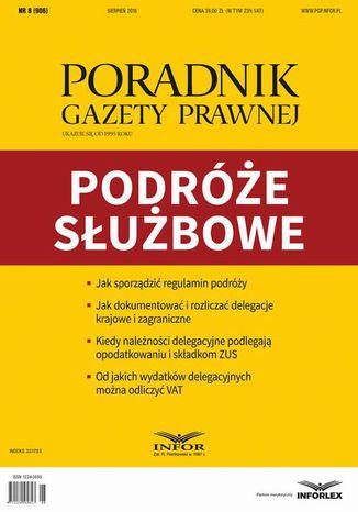 Okładka książki/ebooka Podróże służbowe