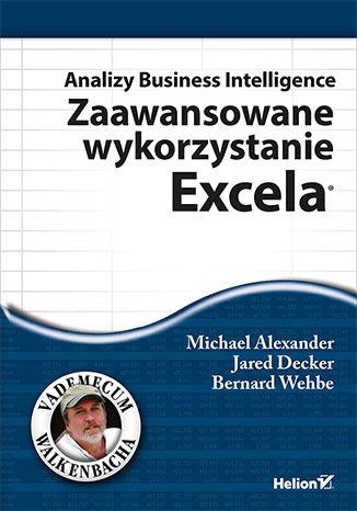 Okładka książki/ebooka Analizy Business Intelligence. Zaawansowane wykorzystanie Excela