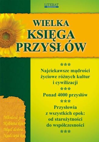 Okładka książki/ebooka Wielka księga przysłów