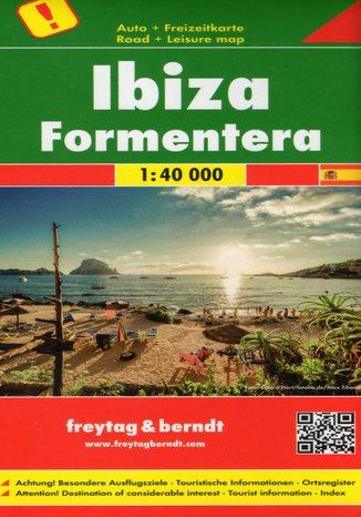 Okładka książki/ebooka Ibiza i Fromentera. Mapa Freytag & Berndt / 1:40 000