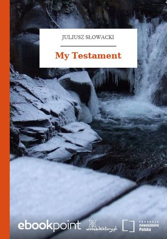Okładka książki/ebooka My Testament
