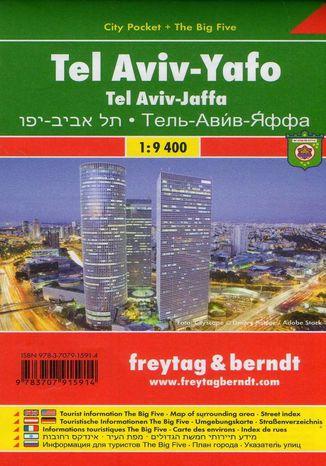 Okładka książki/ebooka Tel Awiw-Jafa, 1:9 400