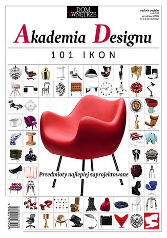 Okładka książki/ebooka Akademia Designu. 101 ikon
