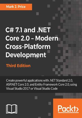 Okładka książki/ebooka C# 7.1 and .NET Core 2.0  Modern Cross-Platform Development - Third Edition