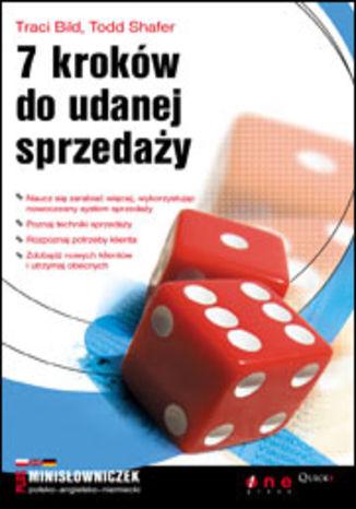Okładka książki 7 kroków do udanej sprzedaży