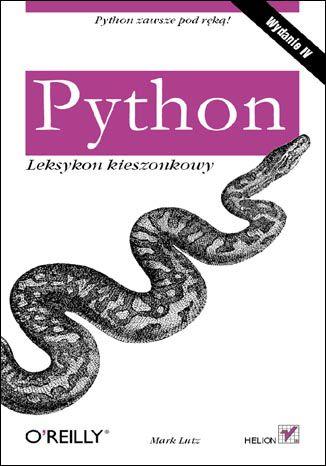 Okładka książki/ebooka Python. Leksykon kieszonkowy. Wydanie IV