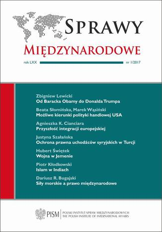 Okładka książki/ebooka Sprawy Międzynarodowe 1/2017