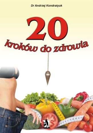 Okładka książki/ebooka 20 kroków do zdrowia