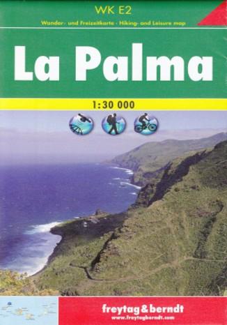 Okładka książki/ebooka La Palma. Mapa turystyczna Freytag & Berndt / 1:30 000