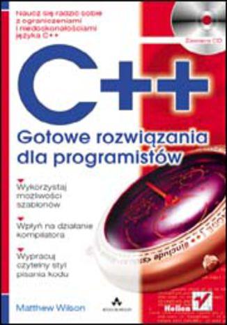 Okładka książki/ebooka Język C++. Gotowe rozwiązania dla programistów