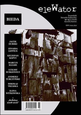 Okładka książki/ebooka eleWator 15 (1/2016) - Bieda