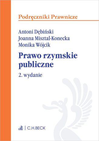 Okładka książki/ebooka Prawo rzymskie publiczne. Wydanie 2