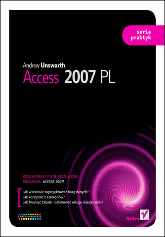 Okładka książki/ebooka Access 2007 PL. Seria praktyk