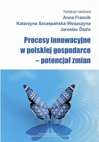 Okładka książki/ebooka Procesy innowacyjne w polskiej gospodarce  potencjał zmian