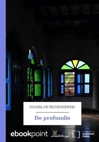 Okładka książki/ebooka De profundis
