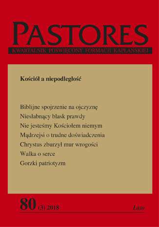 Okładka książki/ebooka Pastores 80 (3) 2018
