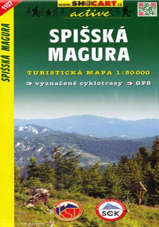 Okładka książki Spišská Magura, 1:50 000