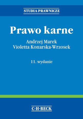 Okładka książki/ebooka Prawo karne. Wydanie 11