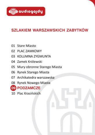 Okładka książki/ebooka Podzamcze. Szlakiem warszawskich zabytków