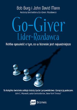 Okładka książki/ebooka Go-Giver. Lider-Rozdawca