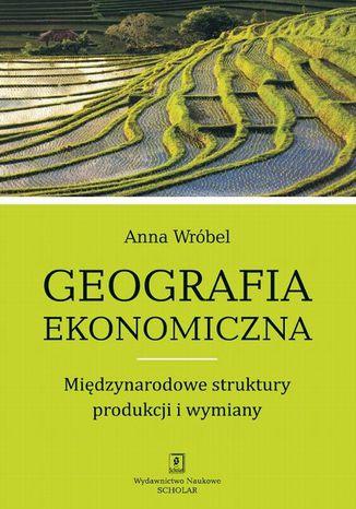 Okładka książki/ebooka Geografia ekonomiczna. Międzynarodowe struktury produkcji i wymiany
