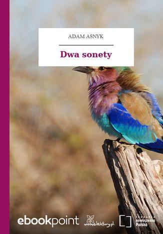 Okładka książki/ebooka Dwa sonety