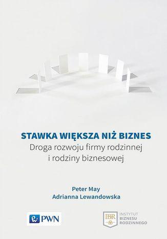 Okładka książki/ebooka Stawka większa niż biznes