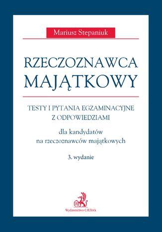 Okładka książki/ebooka Rzeczoznawca majątkowy. Wydanie 3