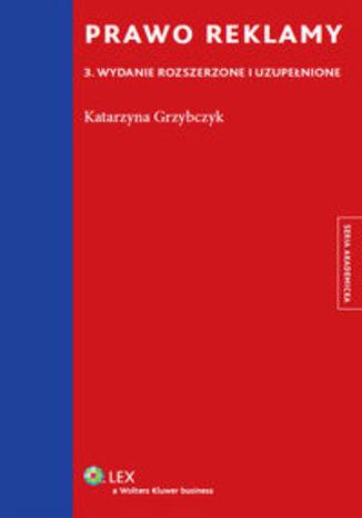 Okładka książki/ebooka Prawo reklamy