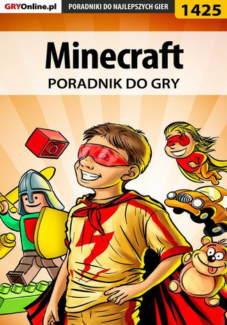 Okładka książki/ebooka Minecraft - poradnik do gry