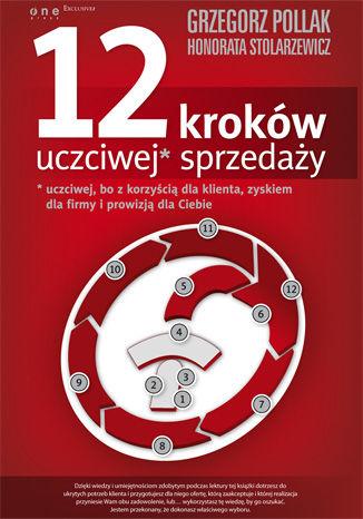 Okładka książki/ebooka 12 kroków uczciwej* sprzedaży