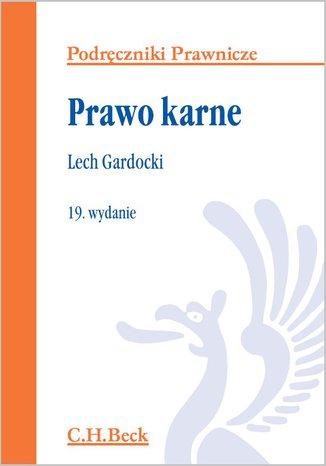 Okładka książki/ebooka Prawo karne. Wydanie 19