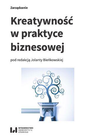 Okładka książki/ebooka Kreatywność w praktyce biznesowej