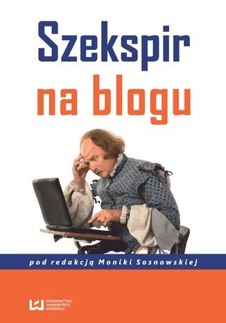 Okładka książki/ebooka Szekspir na blogu
