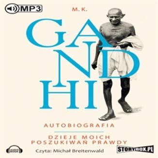 Okładka książki Gandhi Autobiografia Dzieje moich poszukiwań prawdy