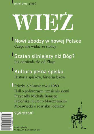 Okładka książki/ebooka Więź 3/2015