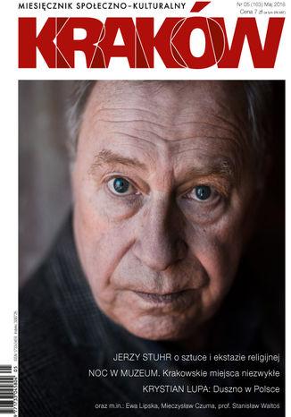 Okładka książki/ebooka Miesięcznik Kraków, maj 2018