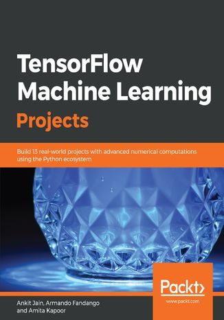 Okładka książki TensorFlow Machine Learning Projects