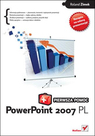 Okładka książki PowerPoint 2007 PL. Pierwsza pomoc