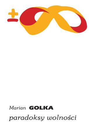 Okładka książki/ebooka Paradoksy wolności