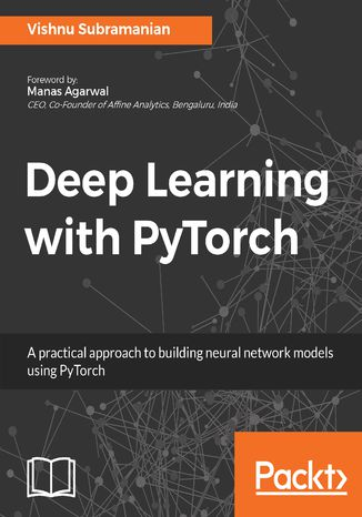 Okładka książki/ebooka Deep Learning with PyTorch
