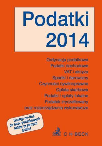 Okładka książki/ebooka Podatki 2014