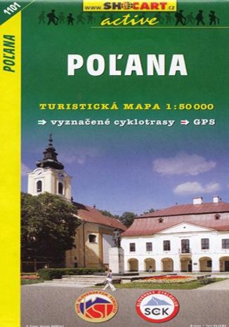 Okładka książki Poľana, 1:50 000