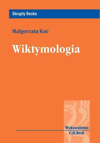 Okładka książki/ebooka Wiktymologia