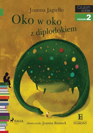 Okładka książki/ebooka Oko w oko z diplodokiem