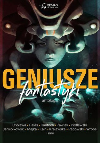 Okładka książki/ebooka Geniusze fantastyki
