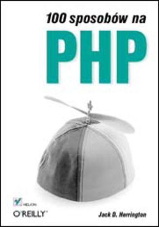 Okładka książki 100 sposobów na PHP