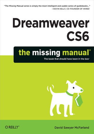 Okładka książki/ebooka Dreamweaver CS6: The Missing Manual