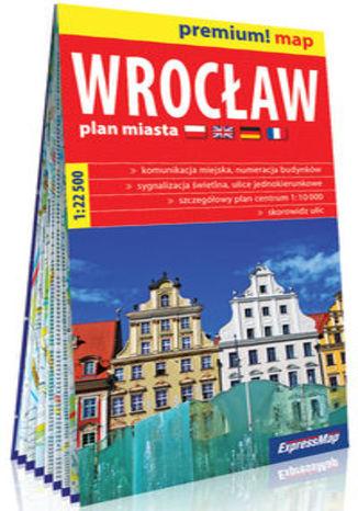 Okładka książki/ebooka Wrocław plan miasta 1:22 500